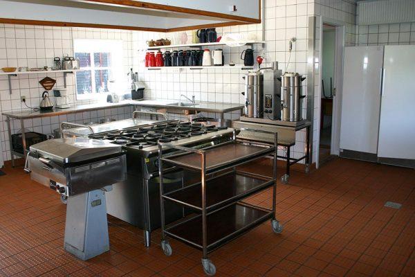 Køkken på Møllegaarden