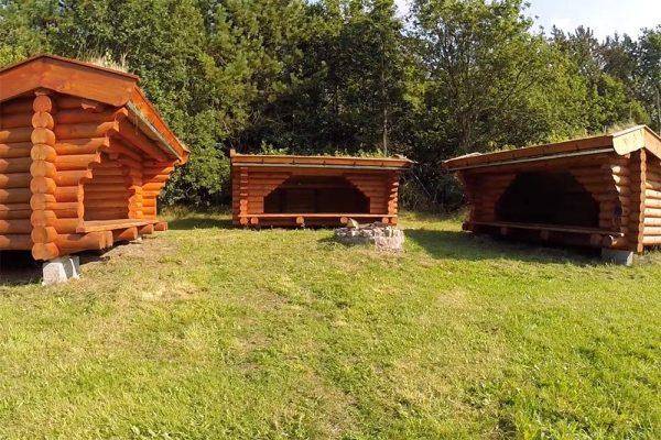 Shelters ved Møllegaarden