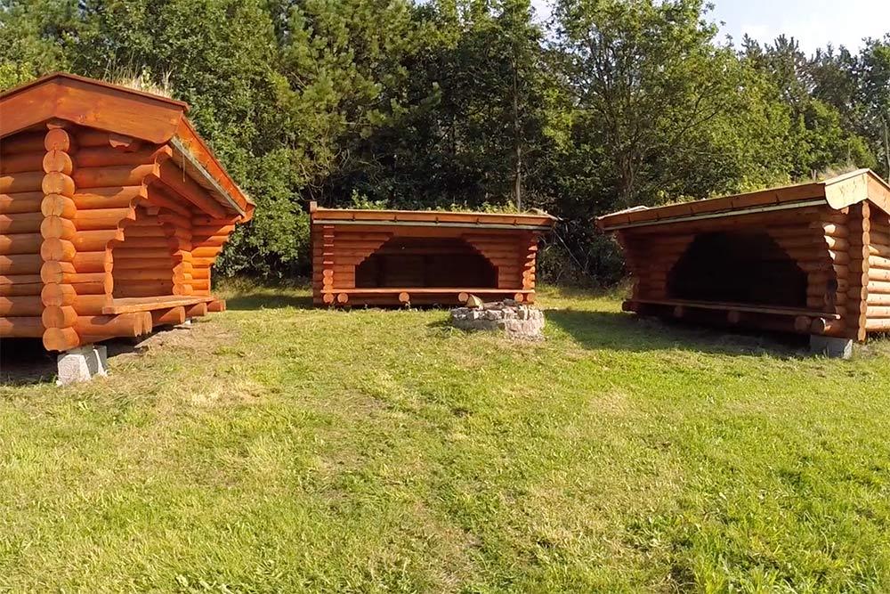 Shelters på Møllegaardens grund